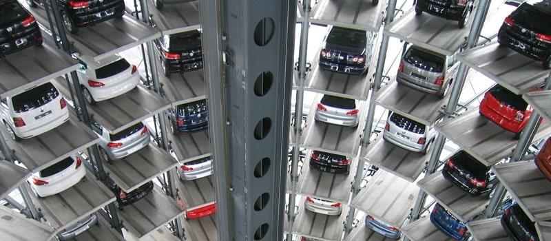 Hệ thống xếp xe thông minh, hiện đại bậc nhất Việt Nam (Ảnh minh họa).