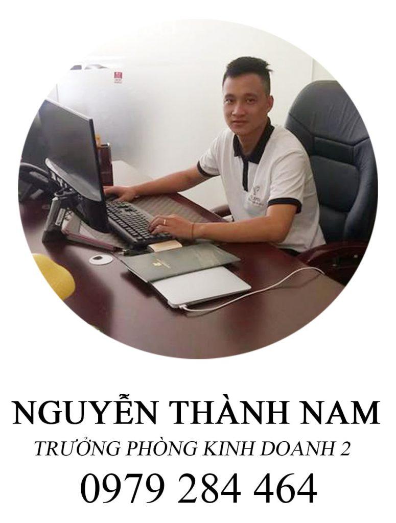 Nguyễn Thành Nam. Trưởng phòng kinh doanh 02.