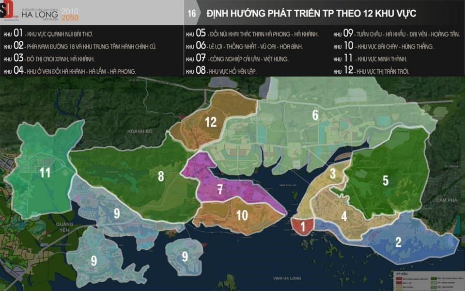 Quy hoạch phát triển thành phố Hạ Long - Tầm nhìn 2030 đến 2050.