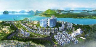 Phối cảnh tổng thể dự án Green Pine Villas Hạ Long - Monaco Hạ Long