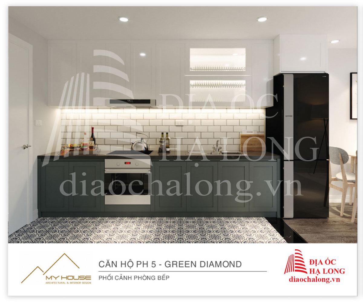 Phong cách thiết kế sang trọng, đẳng cấp nhưng cũng vô cùng tinh tế của dự án Green Diamond Hạ Long