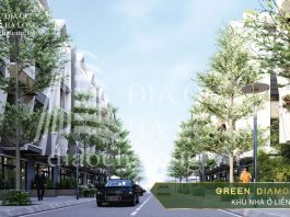 Khu nhà ở liền kề Green Diamond Hạ Long